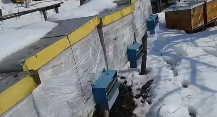 Дом пчелы лежак на 16 рам