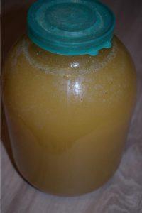севший Акациевый мед
